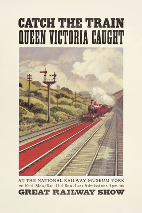 'Catch the Train Queen Victoria Caught', 1990.