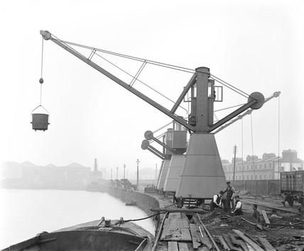 North London Railway's Poplar Dock, London, c 1898.