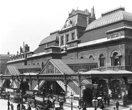 Broad Street Station, London, 1898.