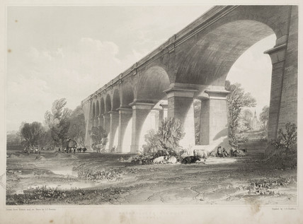 Wharncliffe Viaduct, 1845