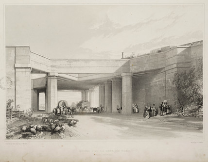 Bridge over the Uxbridge road, 1845