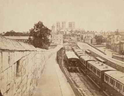 York old station, 1868.