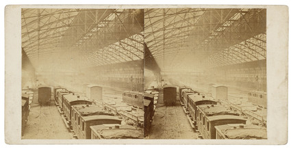 Carriage works, c 1860.