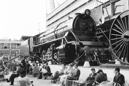 A Class WG locomotive number 8350, 1941