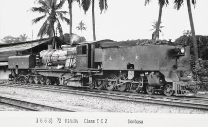 Class EC1 locomotive, Mombasa, Kenya, 1941.