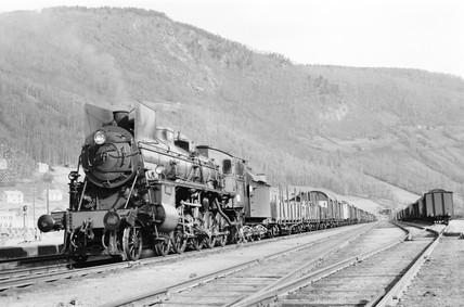 Class 26C locomotive, Norway, 1954.