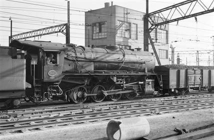A S1 class locomotive at Germiston, South Africa, 1968.