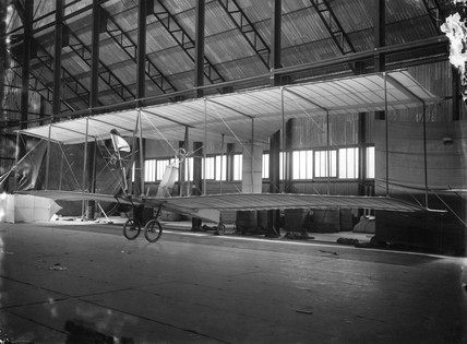 Cody aeroplane No1, possibly 1907.