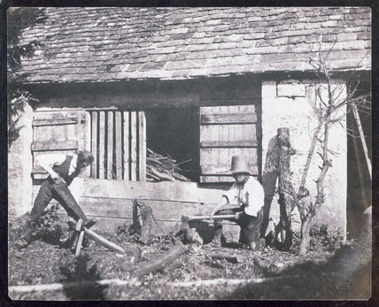 The Woodcutters Pullen and Henneman, 1843.