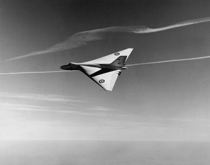 Avro Vulcan, 1950s.