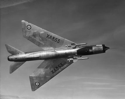 English Electric P1 Lightning, c 1960s.