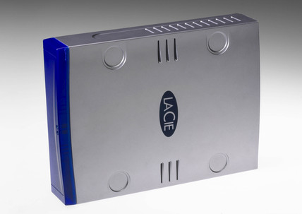LaCie portable hard drive, 2004.