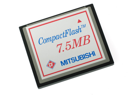Memory cartridge for a digital camera, 2004.