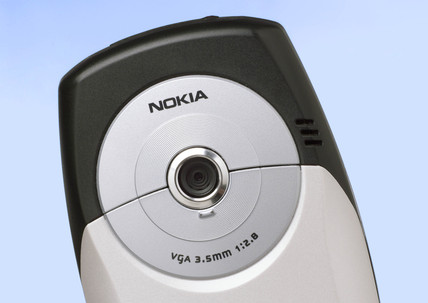 Camera of a Nokia mobile phone, 2004.