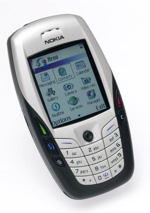 Nokia mobile phone, 2004.
