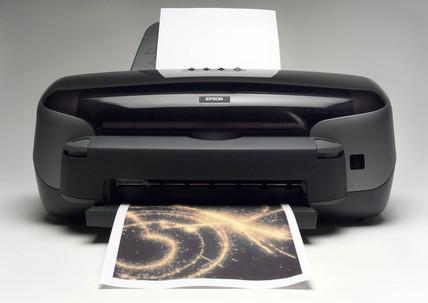 Epson printer, 2004.