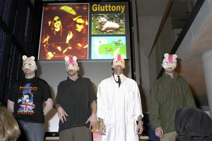 'Punk Scientists - Gluttony', evening event, Dana Centre, 20 January 2004.