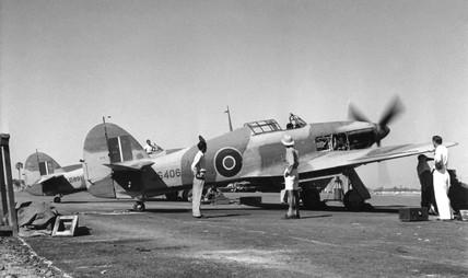 Spitfire, c 1940s.