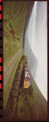 Freight train, Banavie, Scottish Highlands, 2000.