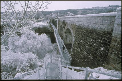 Invershin Viaduct, 2000.