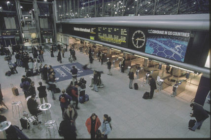Waterloo International Station, 2001.
