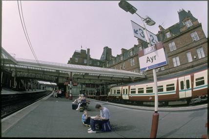 Ayr Station, 2001.