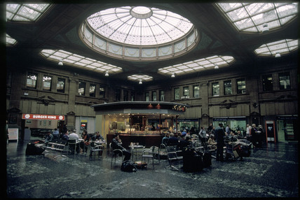 Edinburgh Waverley Station, 2001.