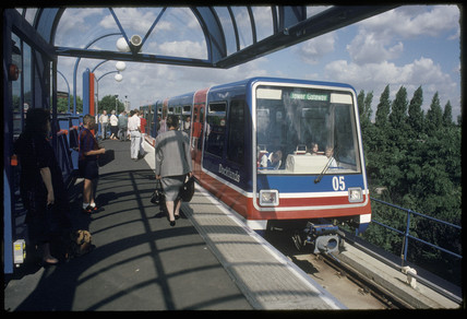 Docklands Light Railway, London, 1993.