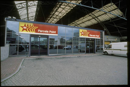 Red Star parcel point, 1995.