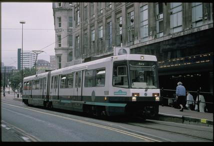 Tram in Bury, 1996.