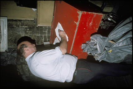 Post Office worker, 1997.