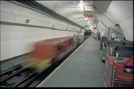 Post Office tube, London, 1997.