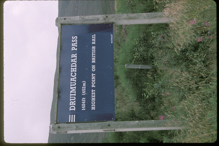 Druimuachdar Pass, 1997.