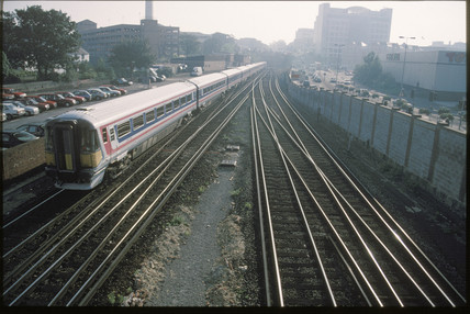Passenger train, 1998.