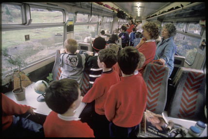 Travelling classroom, 1998.