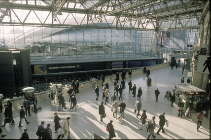 Waterloo International Station, 1999