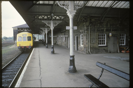 Malton Station, Yorkshire, 1981.