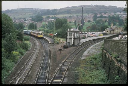 Shipley Station, 1993.