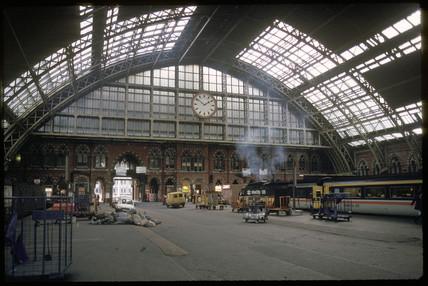 St Pancras Station, 1988.