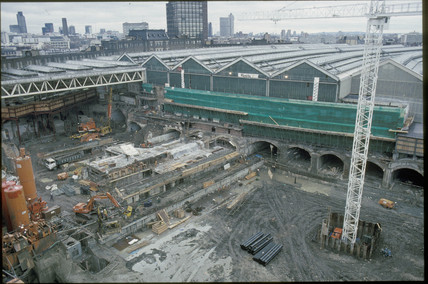 Waterloo International Station, 1991.
