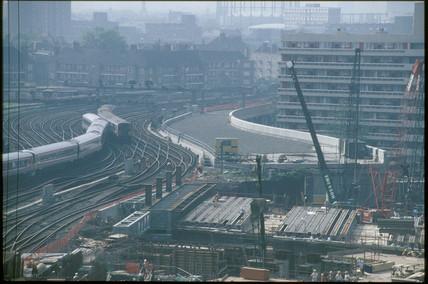 Waterloo International Station, 1991.