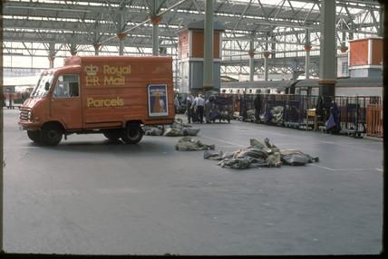 Post Office van, London, 1986.