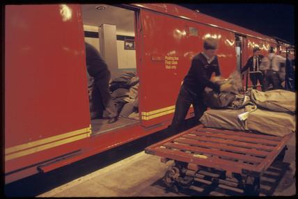 Post Office train, 1987.