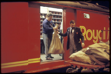 Post Office train, 1987.