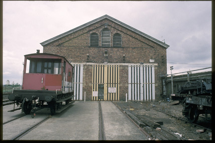 Royal Carriage shed, Wolverton, 1993.