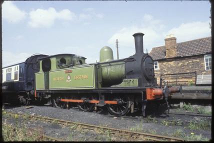 Derwent Valley Light Railway locomotive, 1980.