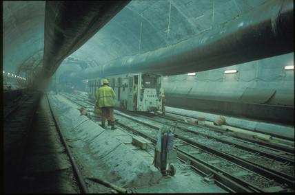 Spoil train, 1991.