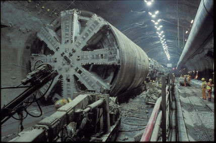 Boring equipment, 1992.