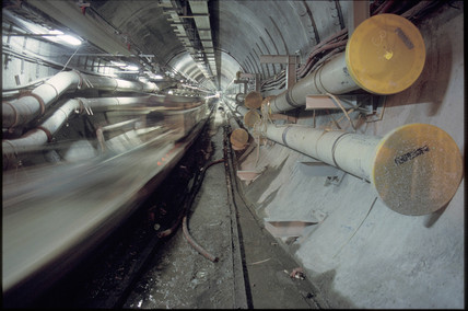 Channel Tunnel, 1992.