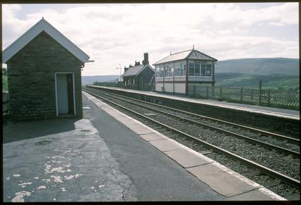 Garsdale Station, North Yorkshire, 1994.